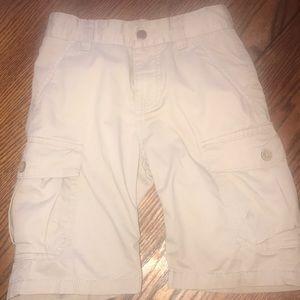 Lucky Brand Boys Khaki Cargo Shorts Size 6